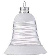 White Swirl Bell - White