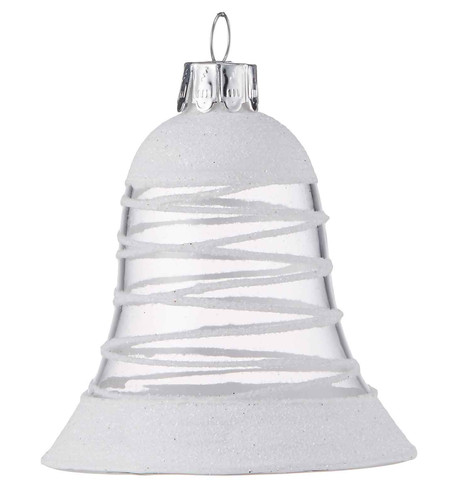 White Swirl Bell White