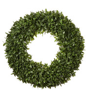Boxwood Topiary Wreath - Green