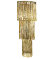 Giant Gold Ribbon Chandelier - Gold