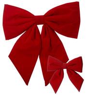 Red Velvet Bows - Red