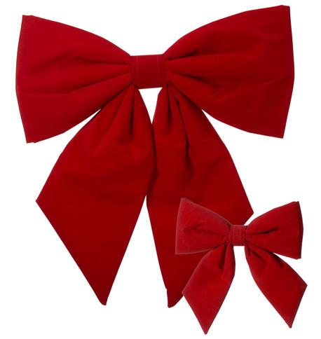 Red Velvet Bows Red