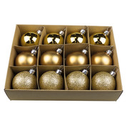 Gold 48mm Baubles - Gold