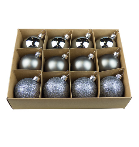 Graphite 48mm Baubles Graphite
