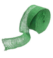 Green JUTE RIBBON - Green