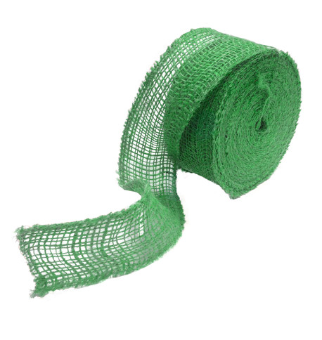 Green JUTE RIBBON Green