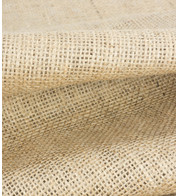 JUTE HESSIAN - LOOMSTATE - Natural