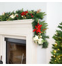 Luxury Red and Gold Christmas Garland Red And Gold