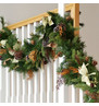 Gold and Bronze Luxury Christmas Garland Gold & Bronze