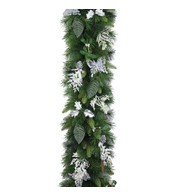 Luxury Silver Christmas Garlands - Silver