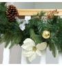 Luxury Christmas Garland in Silver and Bronze Silver & Bronze