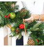 Luxury Garland with Apples & Rustic Decorations APPLES