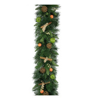 Luxury Rustic Christmas Garlands - Green