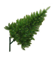 Artificial Wall Mounted Christmas Trees - Green