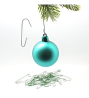 BAUBLE HANGERS - 6CM - Green