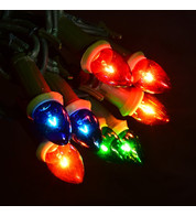 Traditional Filament Festoon Lights - Multicolour