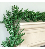 Money Leaf Artificial Garland - Green