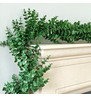 Money Leaf Artificial Garland Green