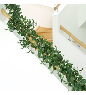 Luxury Artificial Mistletoe Garland - Green
