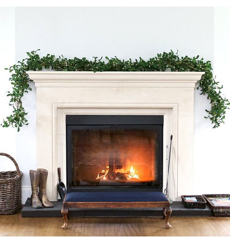 Luxury Artificial Mistletoe Garland Green