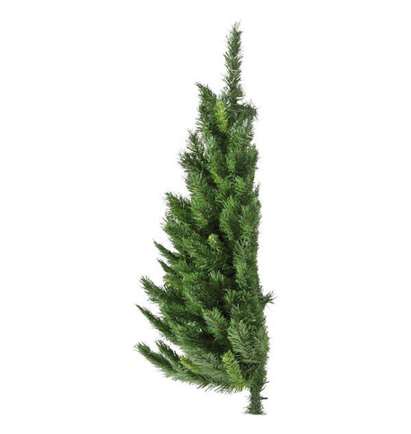 Wall Mounted Half Christmas Tree Green