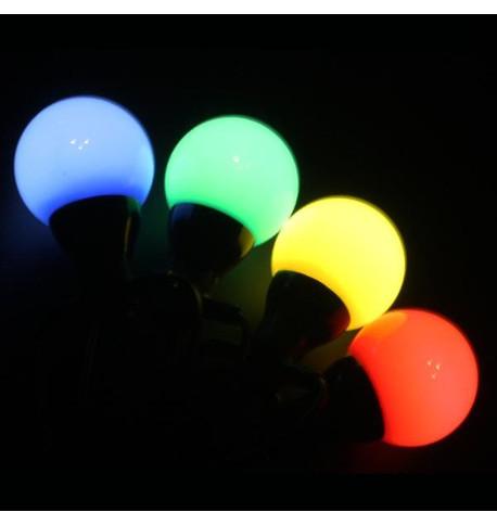 Multi Colour Festoon Lights Multi Colour on Black Cable