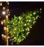 Wall Mounted Christmas Trees - Warm White Static Lights Warm White - Static Lights