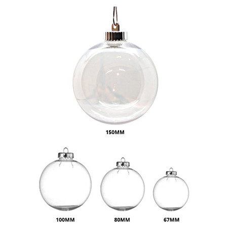 CLEAR BAUBLES Clear
