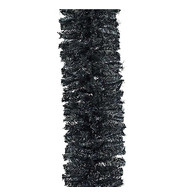 Black Christmas Garland - Black