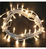 Outdoor String Lights - Pro Series Sparkling Warm White on White Cable Warm White on White Cable