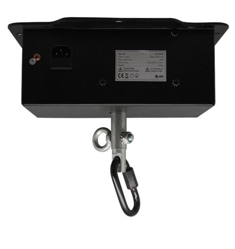 Mains Heavy Duty Mirror Ball Rotator - Up to 50kg Black