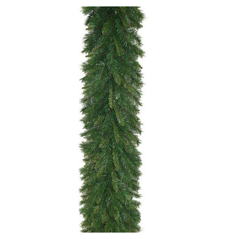 Plain Spruce Garland Green