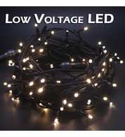 Low Voltage String Lights - Static - Warm White