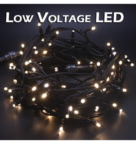 Low Voltage String Lights - Static Warm White