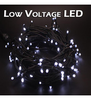 Low Voltage String Lights - Static - Ice White