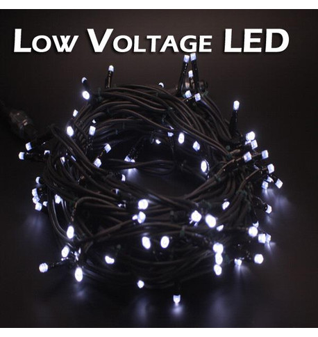 Low Voltage String Lights - Static Ice White