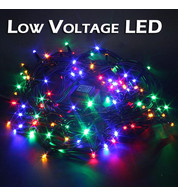 Low Voltage String Lights - Static - Multicolour