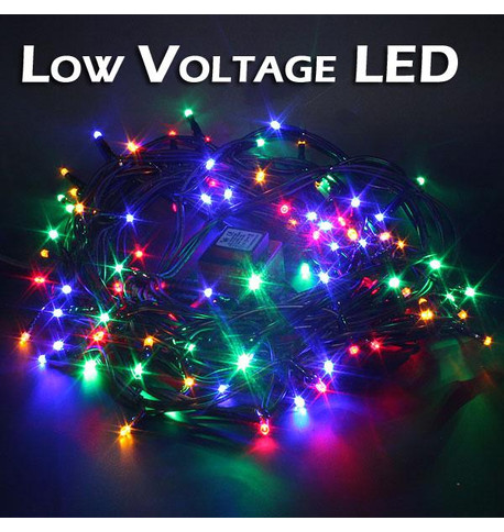 Low Voltage String Lights - Static Multicoloured