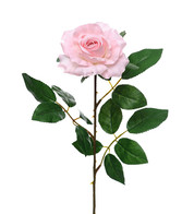 Artificial Rose Pink - Pack of 3 - Pink