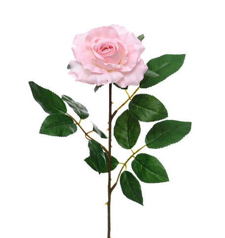 Artificial Rose Pink - Pack of 3 Pink