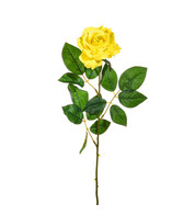 Artificial Rose Yellow - Pack of 3 - Yellow