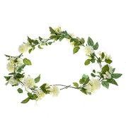 Flower Garland - Cream - Cream