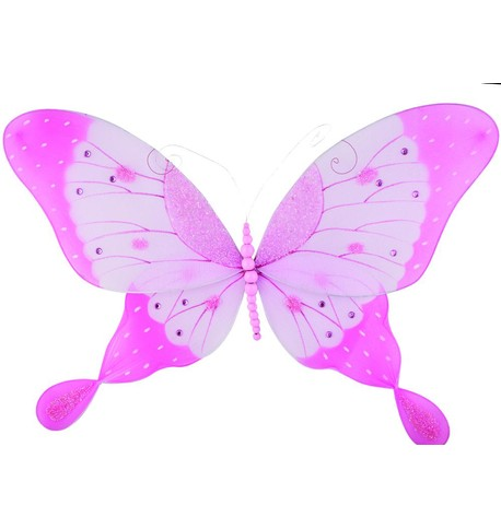 Butterfly - Coloured Pink