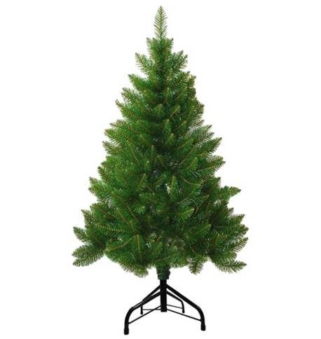 Outdoor Christmas Tree with Traditional Stand Green