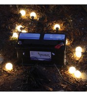 Battery Powered Festoons - Warm White
