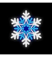 Outdoor Motif - Blue Star - Blue