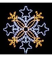 Outdoor Motif - Stars - Warm White