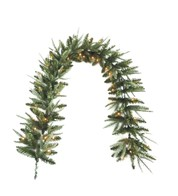 Pre Lit Colorado Garland - Green