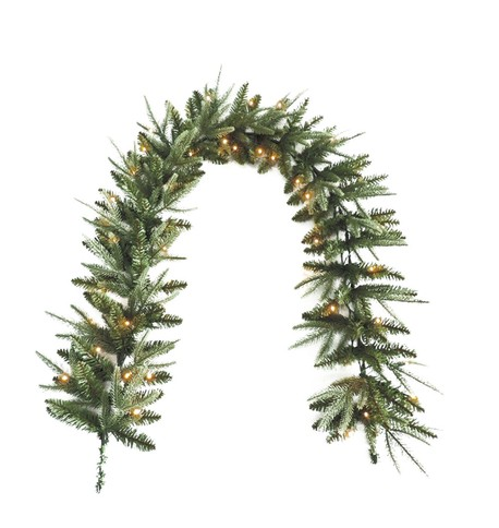 Pre Lit Colorado Garland Green