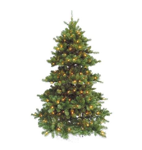 Pre Lit Koster Pine Tree Green